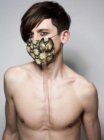 Maska Chad Burton