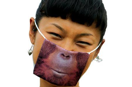 Maska Orangutan